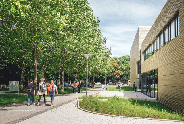 Kommunikations- und Informationszentrum Uni Erfurt, KIZ, Uni Erfurt