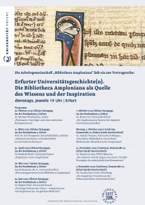 Erfurter Universitätsgeschichten