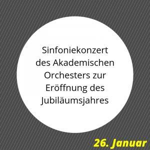 Sinfoniekonzert, Jubiläumskonzert