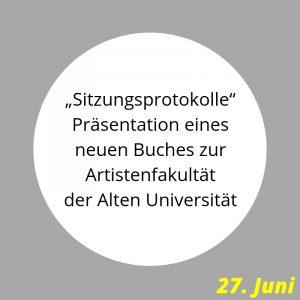 Sitzungsprotokolle Uni Erfurt