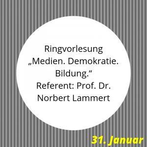 Ringvorlesung Uni Erfurt Norbert Lammert