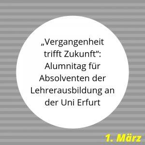 Alumnitreffen Uni Erfurt