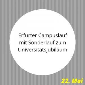 Campuslauf Uni Erfurt