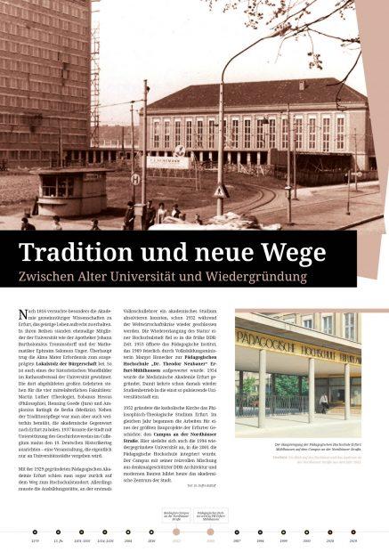 Ausstellungsposter PH Erfurt