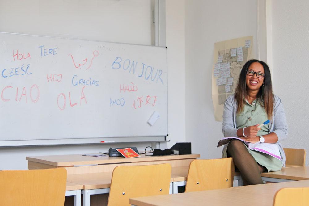 Houda Kouradine, Sprachenzentrum Uni Erfurt